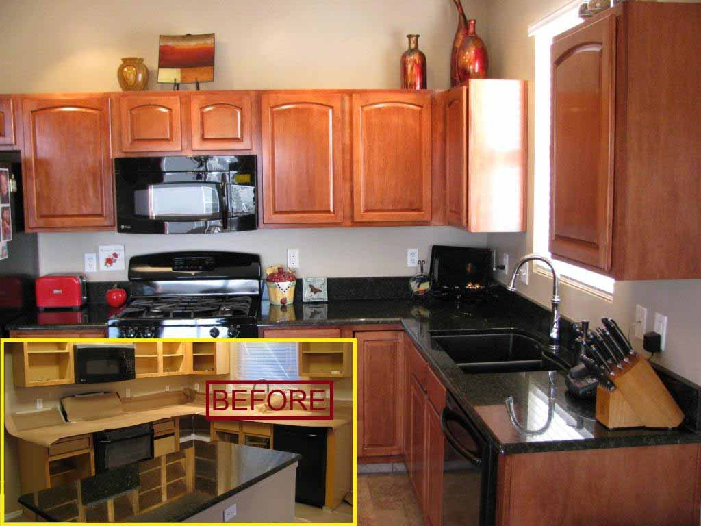 Kitchen Cabinet Refinishing Services - Painting & Staining ...