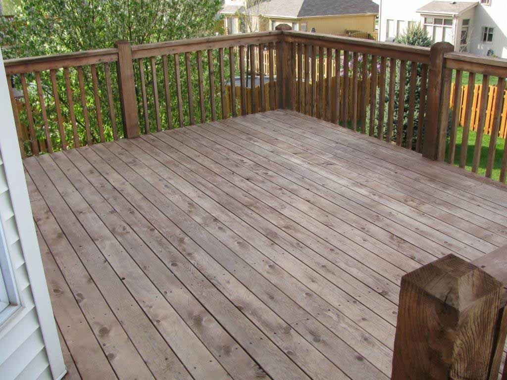 Deck Sanding and Powerwashing Completed
