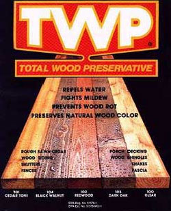 TWP - Total Wood Preservative, Semi-Transparent Stain
