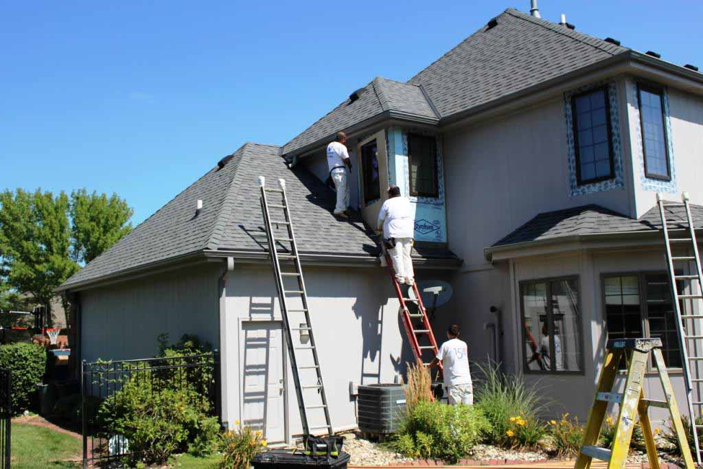 Siding Contractors House Siding Omaha Hardboard Siding Repair